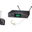 Audio-Technica ATW-3192A-TH 3000 Series Headworn Wireless Mic System Channel D
