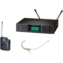 Audio-Technica ATW-3192B-TH Headworn UHF Wireless System Band D