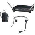 AT ATW-801/H PRO 8HEcW Headworn Mic Wireless System 169.505