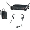Audio-Technica ATW-801/H PRO 8HEcW Headworn Mic Wireless System 169.505