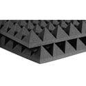 Auralex Acoustic 4 Inch Pyramids - (Charcoal Gray)