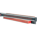 AVP AV-C224E1-AS7511 Mosaic CIS 24 Dual Jack Non-Normaled Terminating 1 RU Patchbay