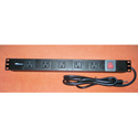 AVB PC-RM-5B 5 Outlet Rack Mounted Power Distribution Unit
