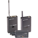 Azden 105ULX 92-Channel UHF Lavalier / XLR Snap-In Combo Wireless Mic System