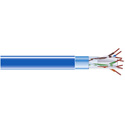 Black Box EVNSL0611A-1000 Cat6 Bulk Cable 400 Mhz Shld Plenum 1000 Ft. Blue