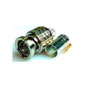 Canare BCP-A42 75 Ohm 3-Piece Crimp BNC Connector for Belden 1505F