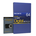 Sony Digital Betacam Video Cassette 64 Minute
