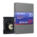 Sony Betacam SP Video Cassette 30 Minute