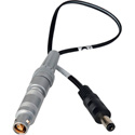 BlackMagic Design Power Cable - 2.5mm DC Plug to Lemo 1S 3P SG - 1 Foot