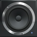 Behringer C50A Active 30-Watt Full-Range Reference Studio Monitor - 5 1/4in Spea