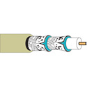 Belden 1152A Plenum Foam FEP Insulation CATV Cable Beige 500 Foot
