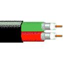 Belden 1694D 18 AWG Dual RG-6/U Serial Digital Coax - Black - 500 Foot Roll