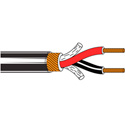 Belden 1813A Paired - Two-Conductor 24 AWG Low-Impedance Cable 1000 Ft
