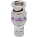 Belden 1855ABHD1 1-Piece HD BNC Compression Connector for Belden 1855A or 22-24