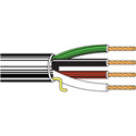 Belden 5202UP 4 Conductor 16 AWG Audio Cable - Black (1000 Ft.)
