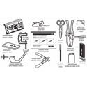 Belden AX103142 Optimax Fiber Tool Kit