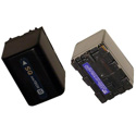 Lithium Ion 7.2V 2.5 Ah Battery for Sony NP-FM70