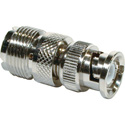 BNC Male to UHF Female Adapter 50 Ohm