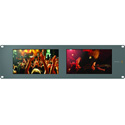 Blackmagic HDL-SMTVDUO SmartView Dual 8 Inch Intelligent SDI Rack Monitors
