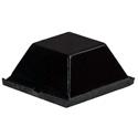 3M 1/2in Black Rubber Bumpon