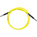 Bittree BPC4804-110 TT Patchcord Nickel 48 Inch (Yellow)