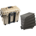 Pelican 1440 Top Loader Case- Desert Tan