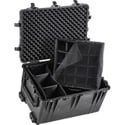 PELICAN 1660 Case with Padded Dividers BLACK