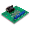9pin Female DSUB to Screw Terminal Breakout Board