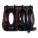 Cord Caddy Cable Organizer- Black