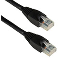 Molded UTP Cat6 Patch Cable 24AWG 50u 6 Inches Black