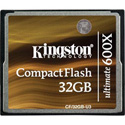 Kingston Technology CF/32GB-U3 32GB CompactFlash Card Ultimate 600x w/ Recovery