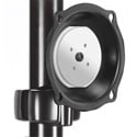 Chief JPPUB Medium Pivot/Tilt Pole Mount - Black