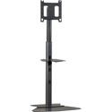 Chief PF1-U Black Flat Panel Display Floor Stand (Black)
