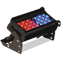 Chroma-Q CHCF12NFRGBA Color Force 12-Inch 2400K Lumen RGBA LED Light - Black