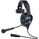 Clear-Com CC-300-X4 Single-Ear Headset with 4-pin Female XLR