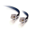 50ft RJ11 6P4C Straight Modular Cable