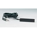 IR (12 vdc) remote target 7ft black cord for use with 2100A dinky link