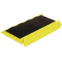 Bumble Bee BB4-300GM 4-Channel Cord Protector - 3 Foot - Black & Yellow