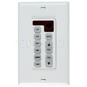 Stereo controller- single gang keypad for use with MDS-6A