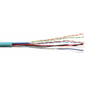 2-Condcutor Data / CAT5e 350MHz / 2-Condcutor Power Crestron Cable 500 Foot Teal