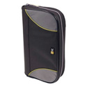 Case Logic CSW-72BK 72-CD Nylon Sport Media Wallet -Black