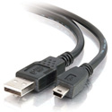 1m USB 2.0 A to Mini-b Cable