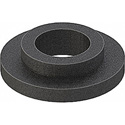 100pc Bag of Black Nylon Shoulder Washers