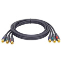 TecNec Premium HDTV Triple-RCA Component Video Cable 3 Foot
