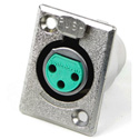 Switchcraft D3F XLR Female 3 Pin Chassis Mount