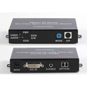 Digital Extender OBCA-2C DVI Fiber Optic Extender - Multi-mode or Single Mode