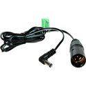 Delvcam Power Cable 4-Pin XLR Male to 2.1mm Plug 6 Foot