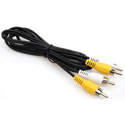Delvcam Dual RCA Patch Cord 3ft