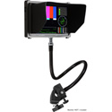 Delvcam 22 Inch Gooseneck with Clamp For LCD Field Monitors - Action Cams and Mo