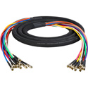 3G/HD-SDI Gepco VS12230 12 Channel DIN1.0/2.3 Video Snake 3 Foot